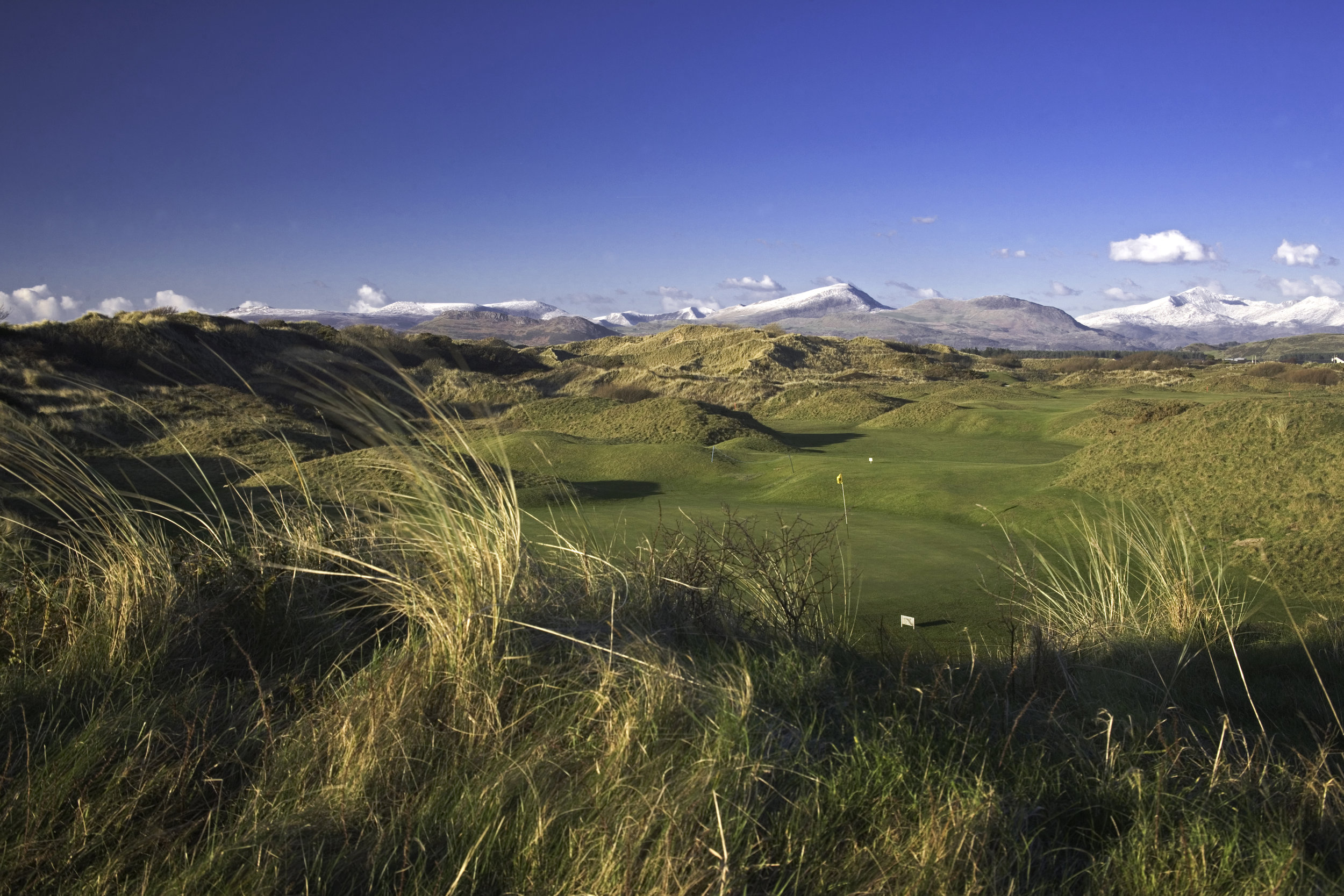 photo of Royal St Davids golf course in Harlech