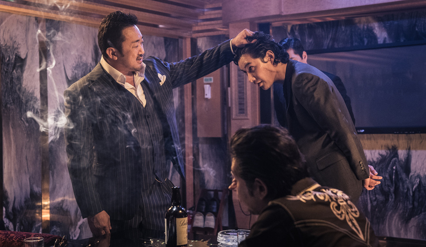Won-Tae Lee the gangsger the cop the devil recensione