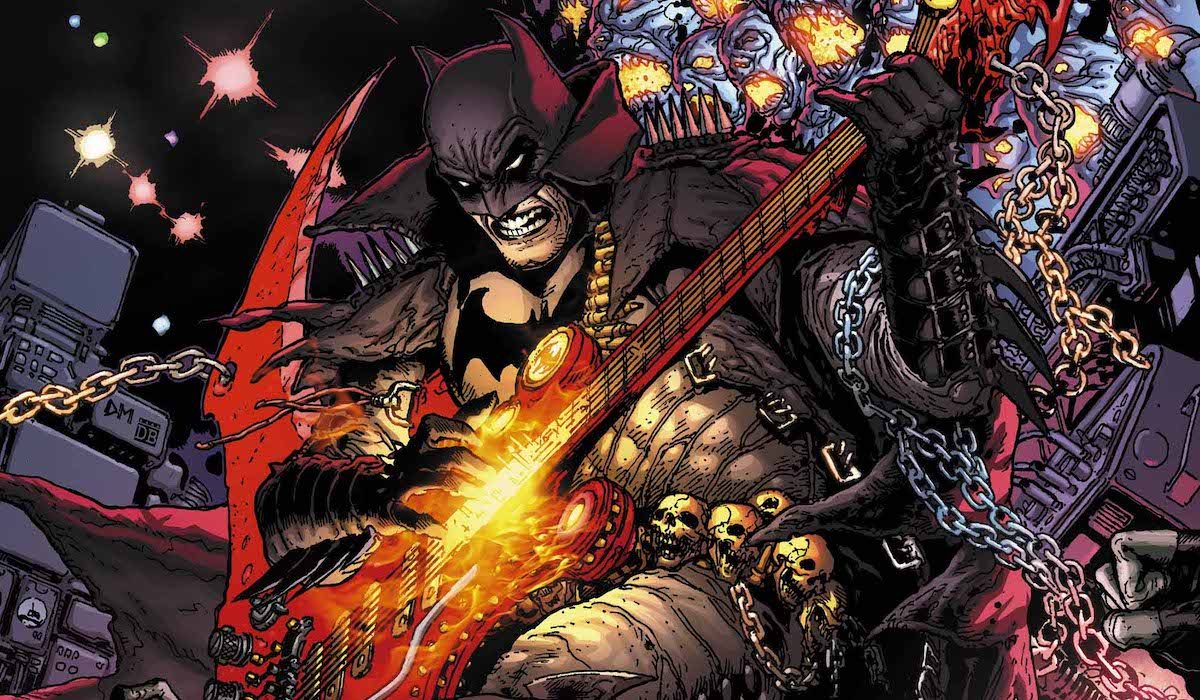 Batman Death Metal - Arrivano le cover Band Edition 2