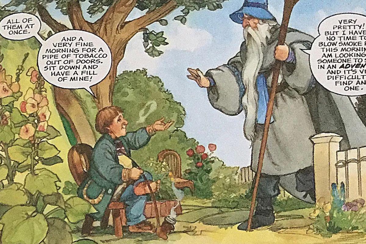 Lo Hobbit a fumetti: un viaggio nella Terra di Mezzo 5