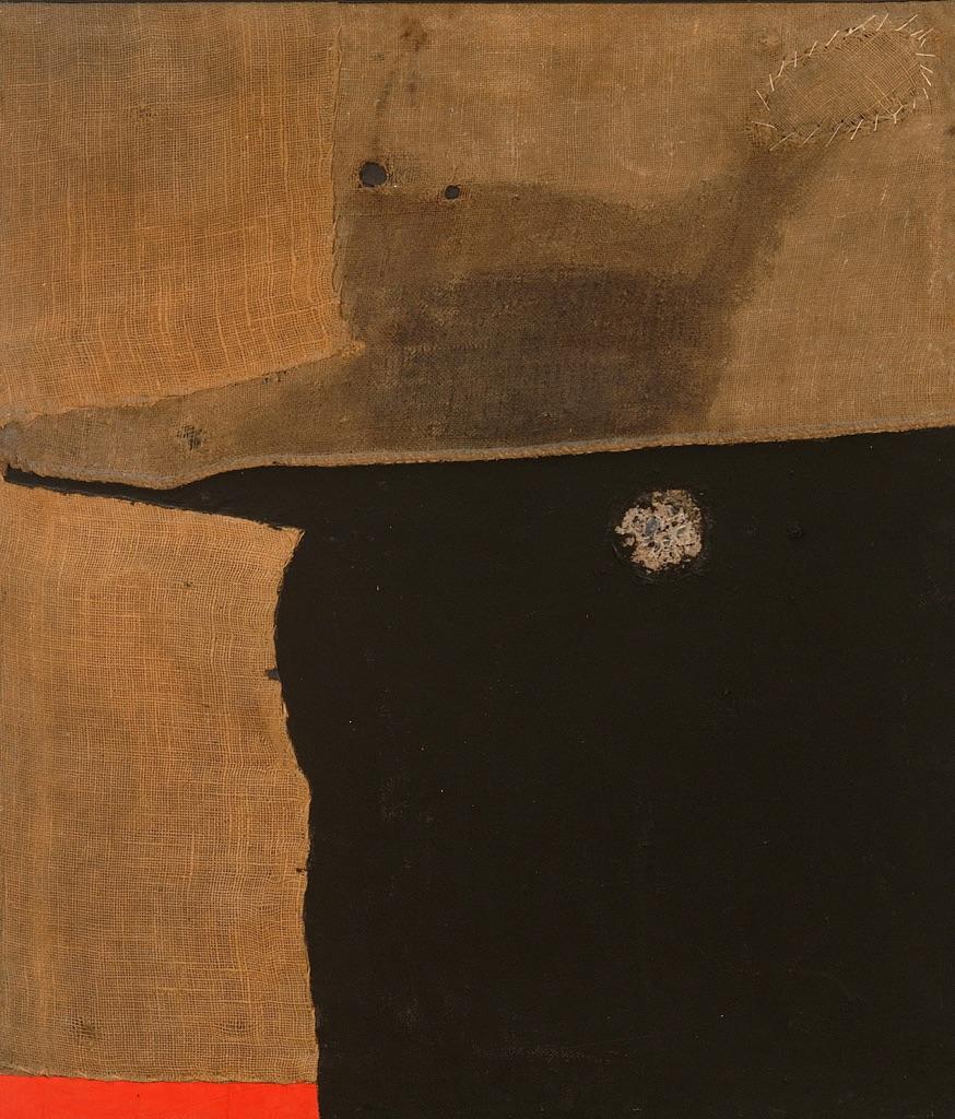 Alberto Burri: l'artista che causò una disputa parlamentare 4