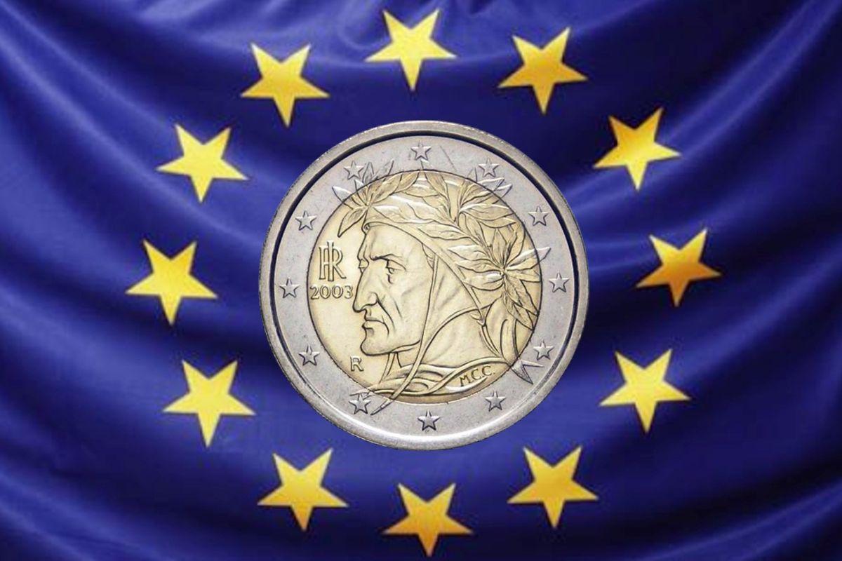 Dante in euro