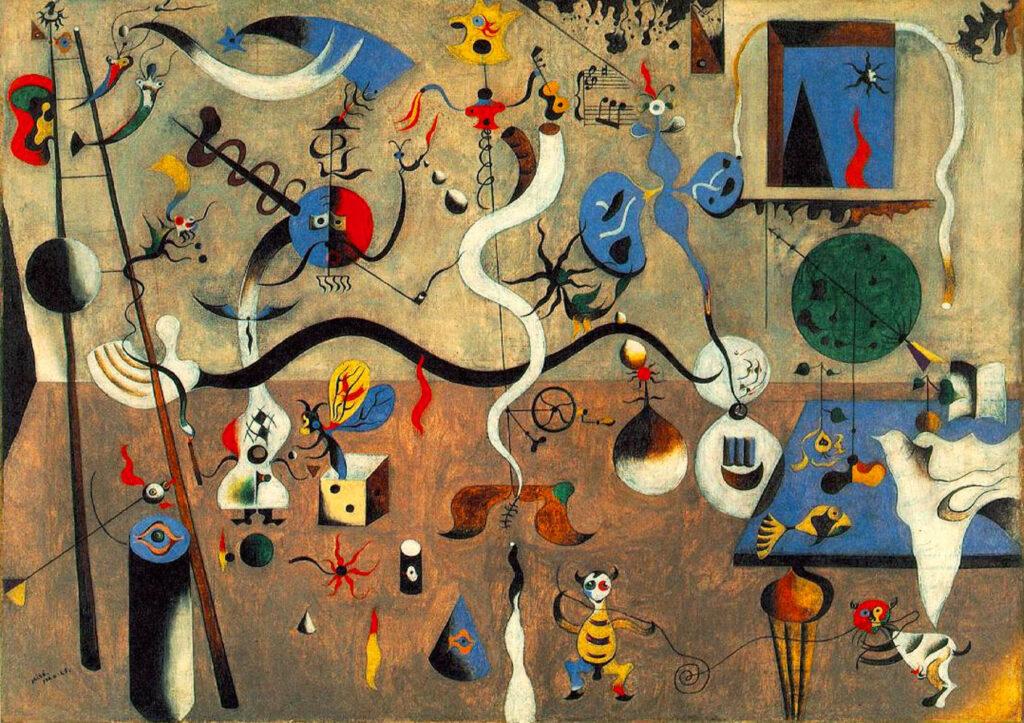 Joan Miró (1893-1983): un Carnevale di costellazioni surrealiste 2