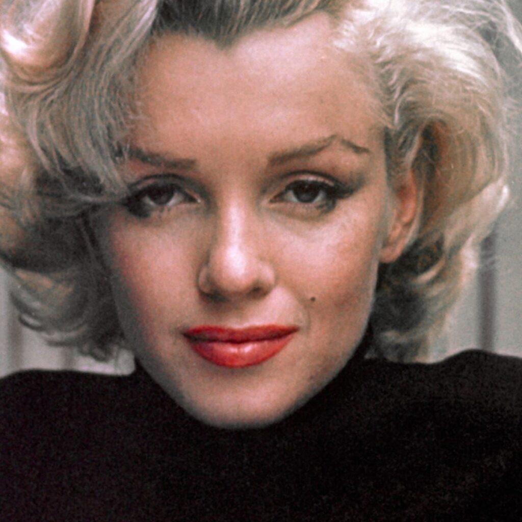 Marilyn Monroe, diva del cinema americano degli anni '60 e musa ispiratrice della PopArt di Andy Warhol 1