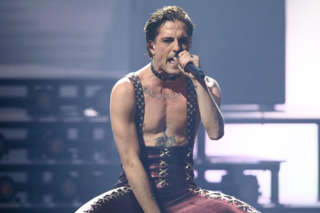 Maneskin Damiano Eurovision Song Contest 2021
