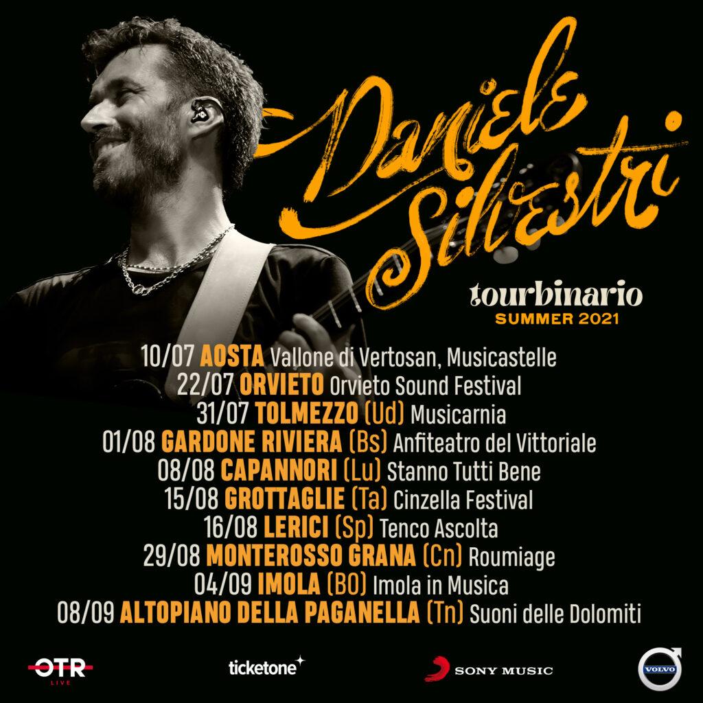 """Daniele Silvestri: il live estivo si sdoppia per il nuovo """"TourBinario"""""""