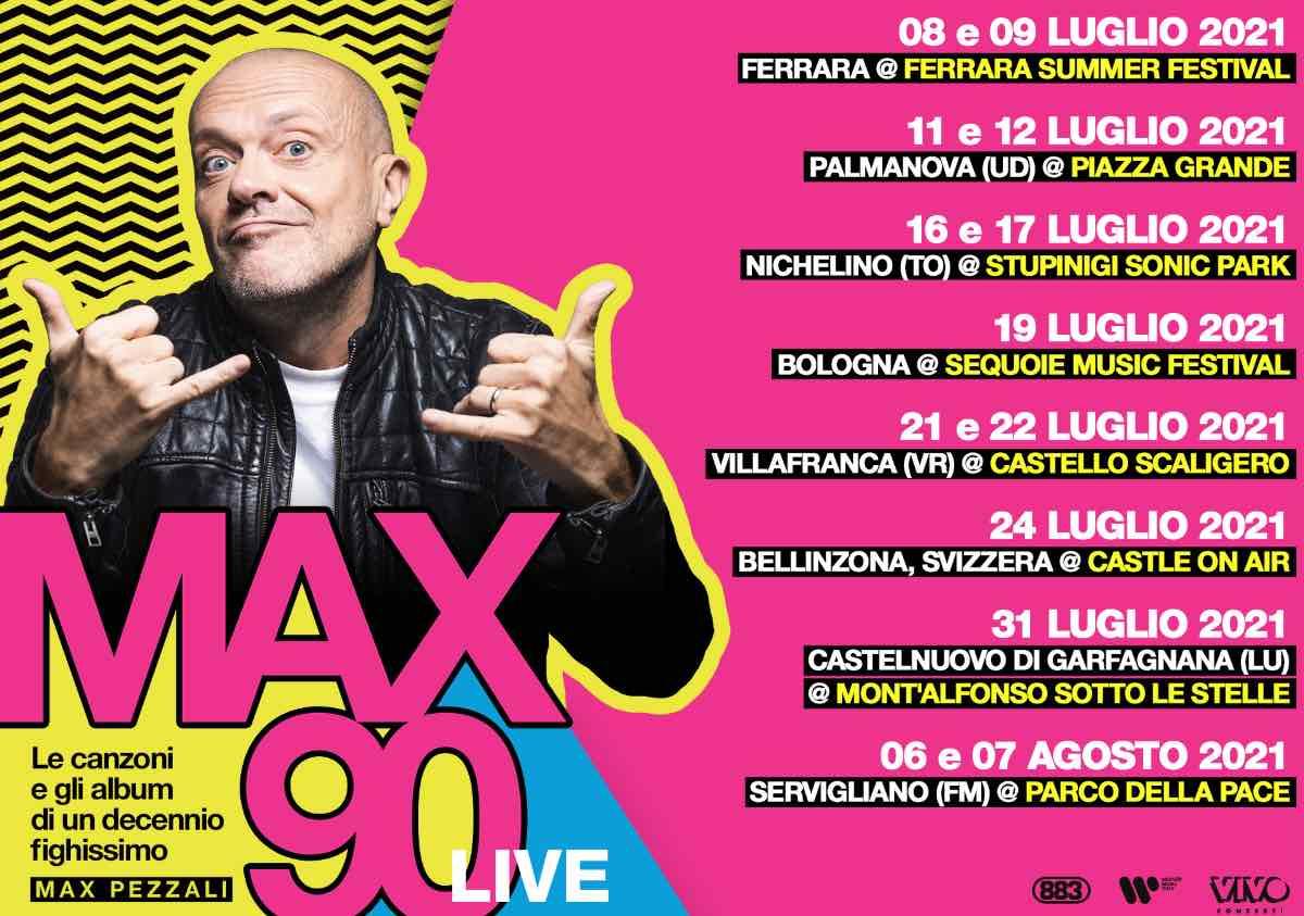 max pezzali Max90 Live