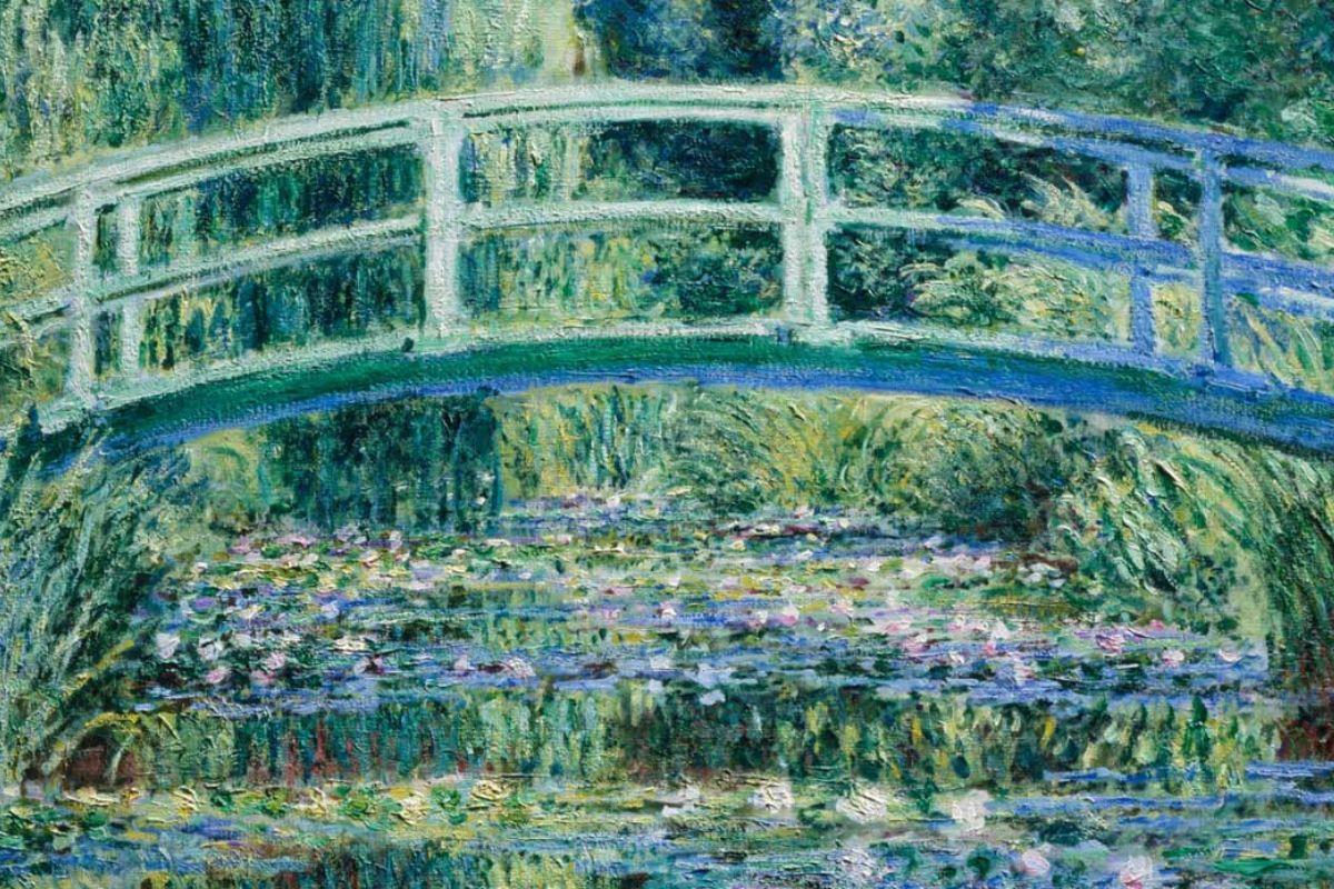 Monet Il ponte giapponese