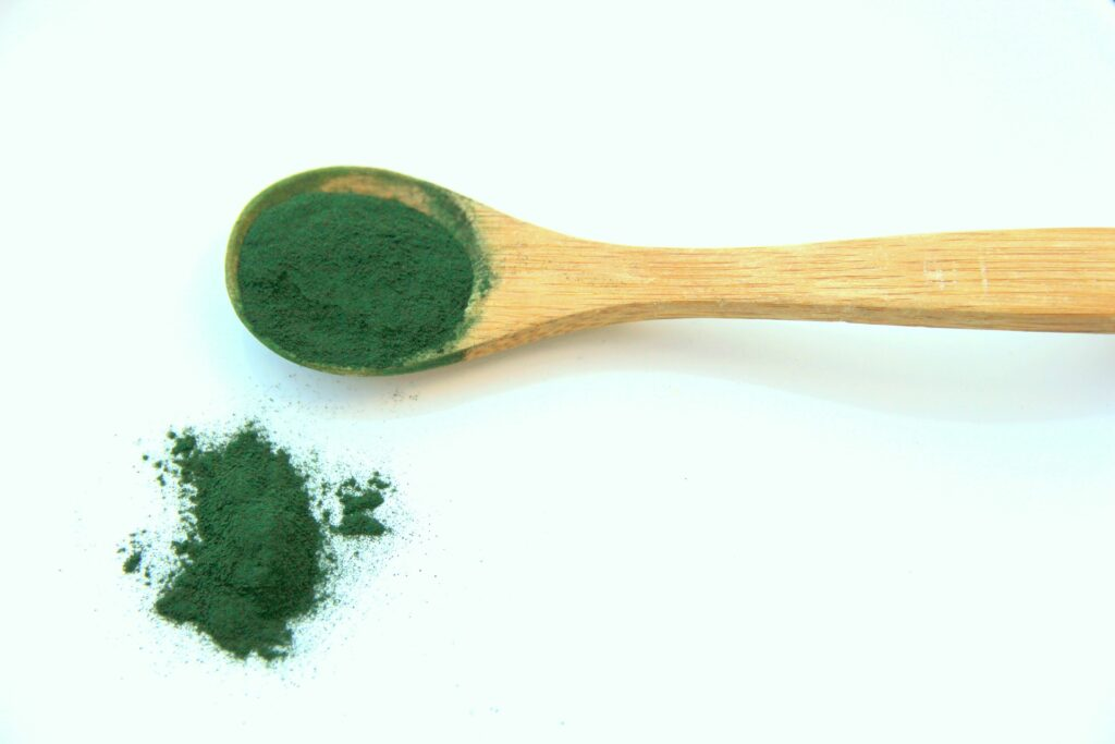 This is the image of Spirulina. Spirulina is a super food.