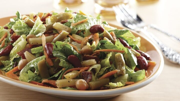 Tossed Bean Salad Recipe