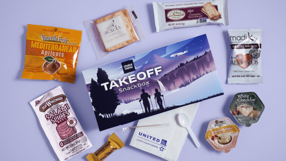 United Airlines Launch Buy-On-Board Menu