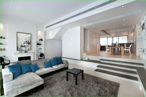 Split Level Living Room