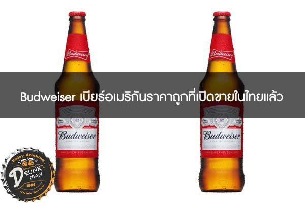 Budweiser เบียร์อเมริกันราคาถูกที่เปิดขายในไทยแล้ว #เบียร์นอก