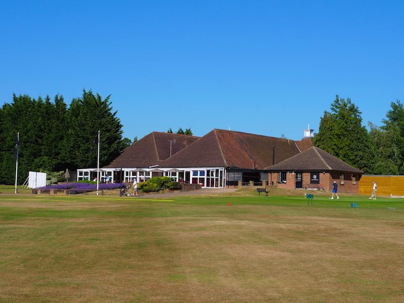 The Clubhouse At Aldenham Golf & Country Club In Herfortshire