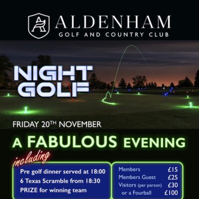 Night Golf November 2020