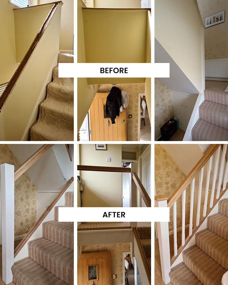Staircase Refurbishment, Wilmslow, Cheshire