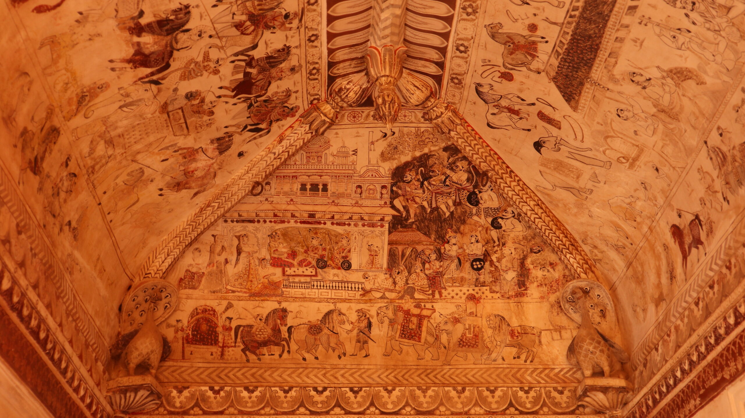 Orchha - Lakshmi Temple Wall Art