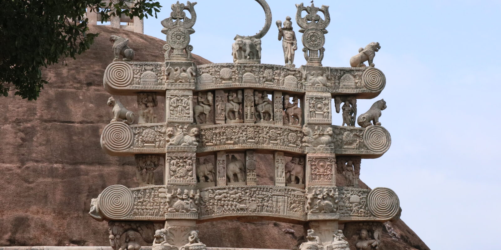 Toran at Sanchi Stupa
