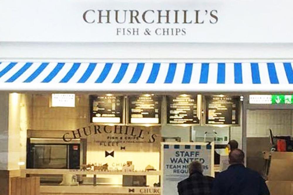 Fish chip shop offering gluten free menu