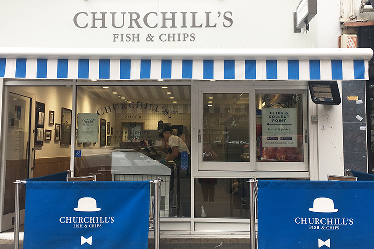 Fish Chips offering local delivery