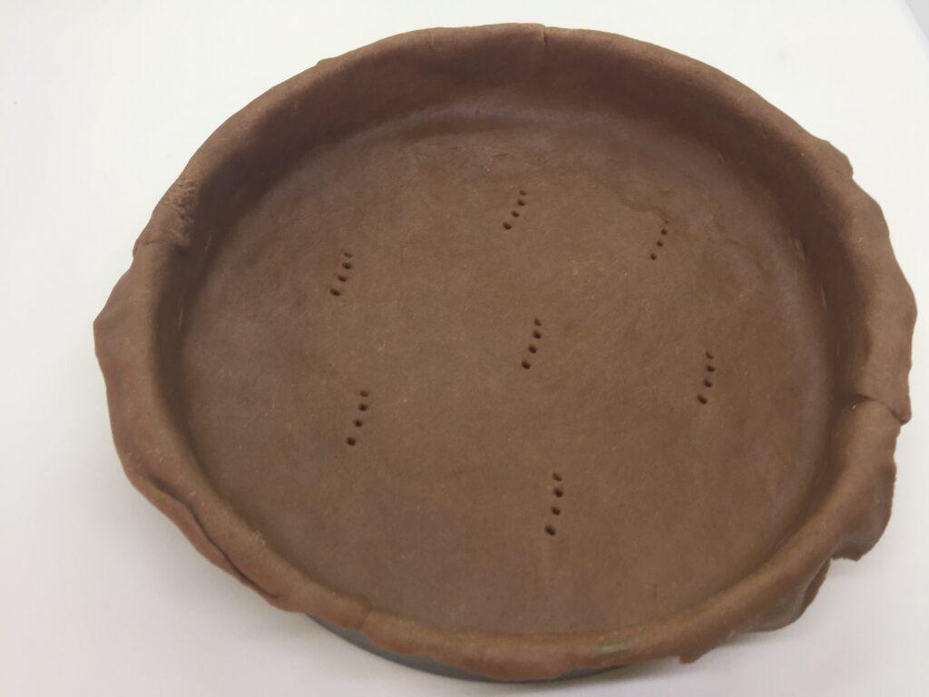 Pastry in tin