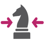 Marketing Strategy Chess Piece icon for prospect 13 marketing agency aberdeen