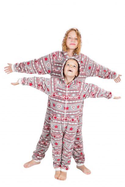 Christmas Dream Go-Jamz Kidz: Kids Fleece Jumpsuit