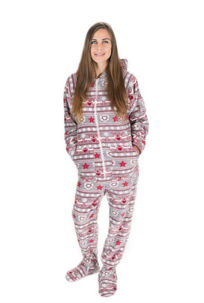 Kajamaz Kalėdinis sapnas Pižama kombinezonas suaugusiems