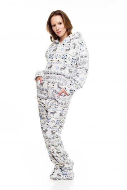 Christmas Kajamaz: Footed Pajamas For Adults