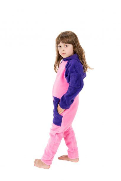 Cotton Candy Go-Jamz Kidz: Kids Fleece Jumpsuit