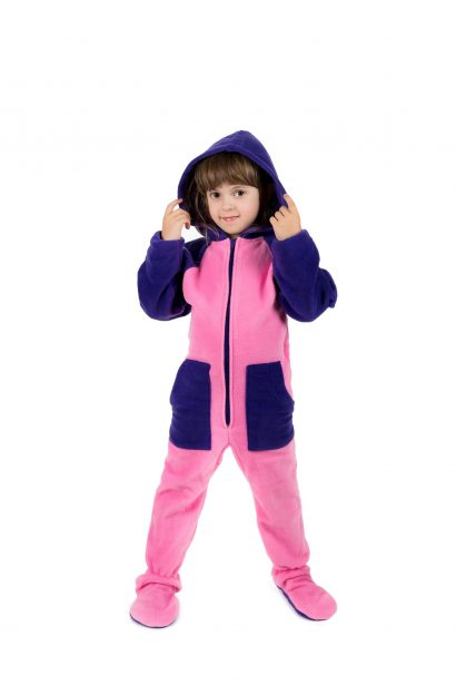 Cotton Candy Kajamaz Kidz: Footed Fleece Pajamas For Kids