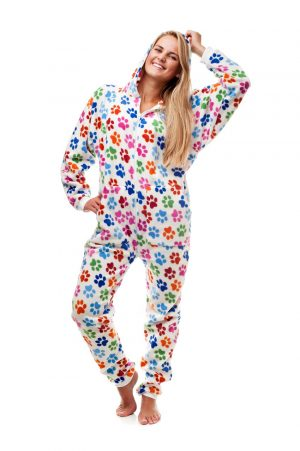 Dog Pawz Go-Jamz Adult Jumpsuit