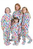 Kajamaz Kidz Šunų pėdutės Flisinė pižama vaikams