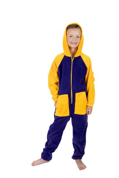 Lemon Splash Go-Jamz Kidz: Kids Fleece Jumpsuit