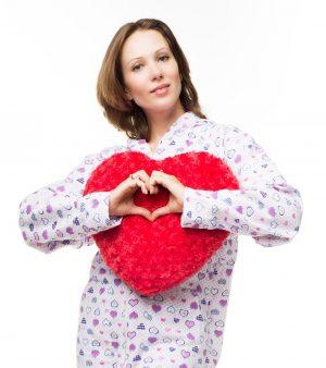Kajamaz ''Meilė'': Pižama-kombinezonas suaugusiems