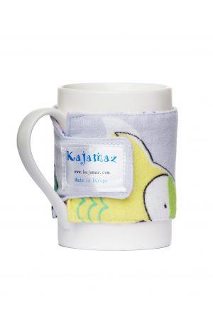 Mug Jamz ''Meilė pelėdoms'' - flanelinis aksesuaras puodeliui
