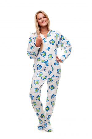 Night Owls Kajamaz: Footed Pajamas for Adults