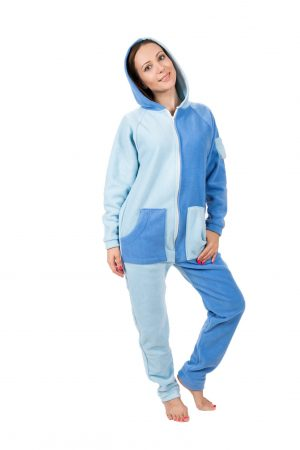 Sky Blues Go-Jamz: Adult Jumpsuit