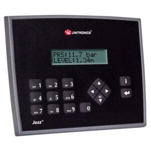 JZ20-J-T20HS Jazz HMI & Keypad, 6 Digital Inputs incl. 3 HSC/Shaft-encoder, 2 Analog/Digital Inputs, 2 Analog Inputs, 10 Transistor Outputs