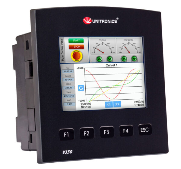 V350-J-T2  Vision350 3.5″  PLC & HMI