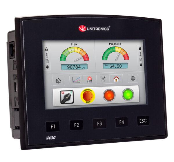 V430-J-T2  Vision430 4.3″  PLC & HMI