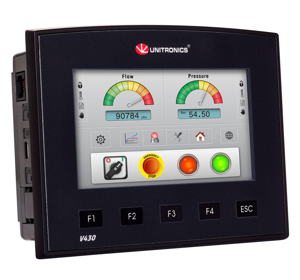V430-J-T2  <br>Vision430 4.3″  <br>PLC & HMI