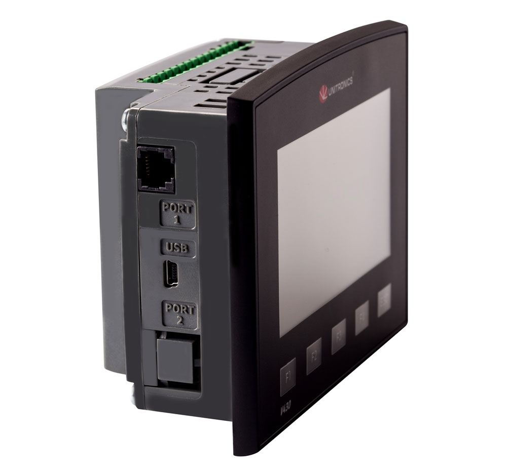 V430-J-TR34  Vision430 4.3″  PLC & HMI