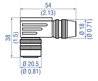 M16 female connector