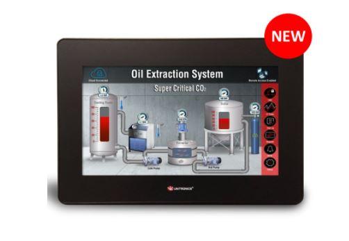 New UniStream 10.1″ Built-in: PLC+HMI + I/Os