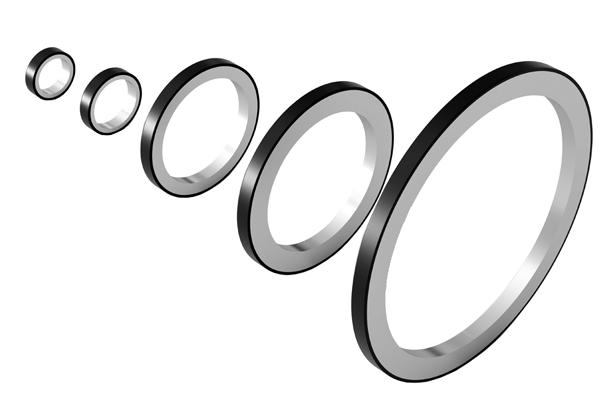 Elastomer-Based Magnetic-Rings