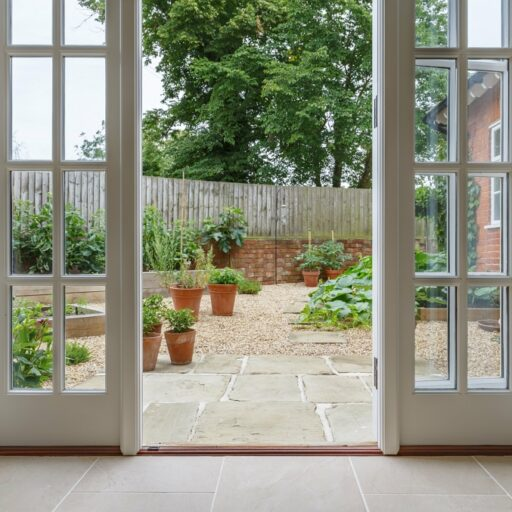 french windows doors rear extension