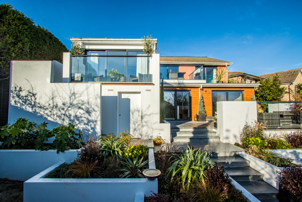 cascade house home extension swoon architecture