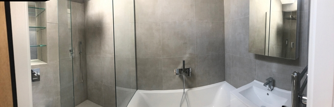 Swoon architecture Mortlake home extension - bathroom