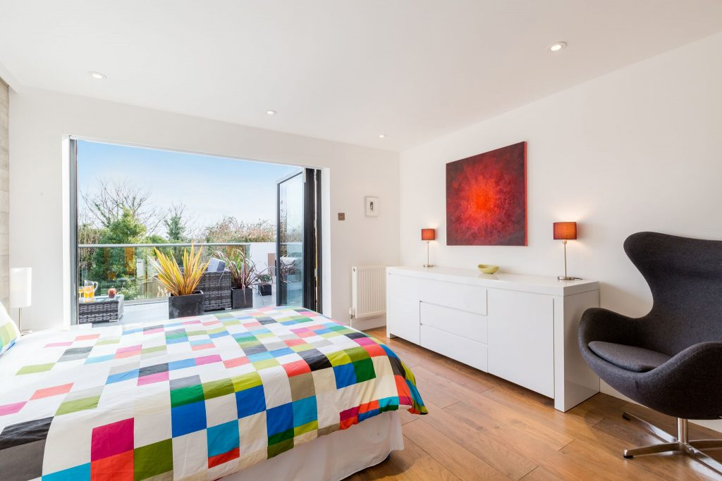 Swoon architecture master bedroom home extension cascade house